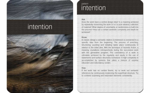 GDM card - intention