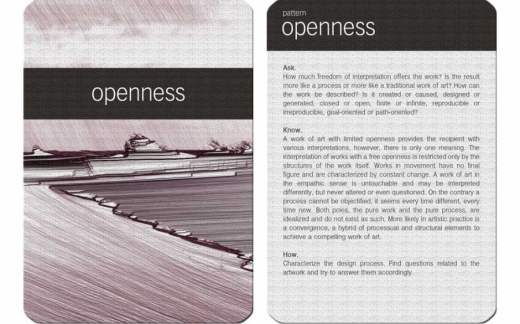 GDM card - openness